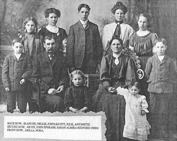 John-Ephraim-Redford-Family