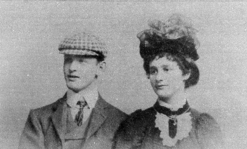 Alfred Salway Eva Rowe 1900