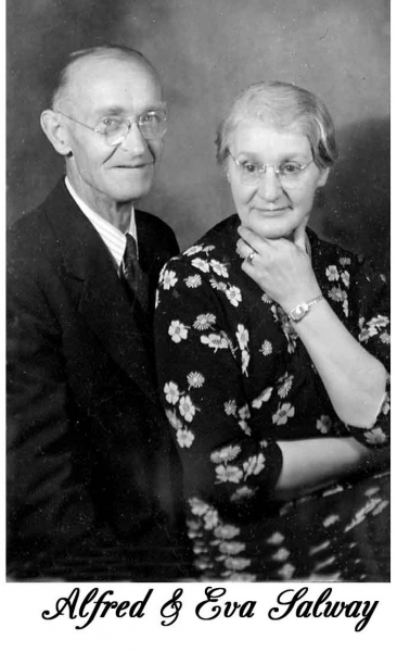 Alfred and Eva Salway
