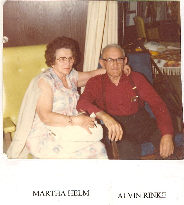 Martha Salway and Alvin Reinke