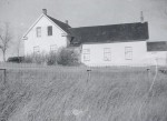 LDS Church in Leavitt, AB in 1950